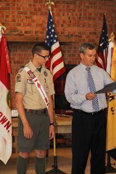 Christopher, Chris Daynorowicz, earns Eagle Scout Award, Hawk Mountain Scout (53)