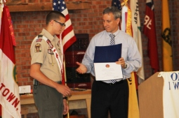 Christopher, Chris Daynorowicz, earns Eagle Scout Award, Hawk Mountain Scout (54)