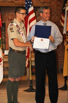 Christopher, Chris Daynorowicz, earns Eagle Scout Award, Hawk Mountain Scout (56)