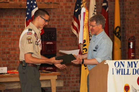 Christopher, Chris Daynorowicz, earns Eagle Scout Award, Hawk Mountain Scout (64)