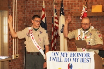 Christopher, Chris Daynorowicz, earns Eagle Scout Award, Hawk Mountain Scout (79)