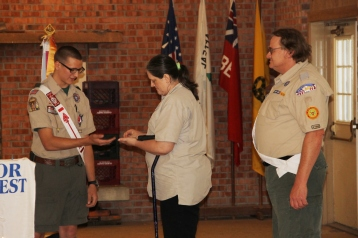 Christopher, Chris Daynorowicz, earns Eagle Scout Award, Hawk Mountain Scout (83)