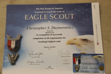 Christopher, Chris Daynorowicz, earns Eagle Scout Award, Hawk Mountain Scout (9)