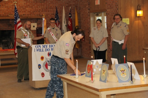 Christopher, Chris Daynorowicz, earns Eagle Scout Award, Hawk Mountain Scout (92)