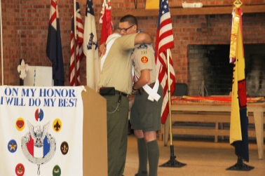 Christopher, Chris Daynorowicz, earns Eagle Scout Award, Hawk Mountain Scout (97)