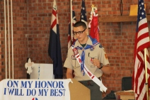 Christopher, Chris Daynorowicz, earns Eagle Scout Award, Hawk Mountain Scout (99)