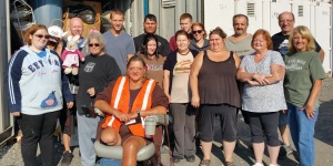 Donation Drop-Off and Tamaqua Community Giveaway, M & M Self Storage, Tamaqua, 8-29-2015 (2)