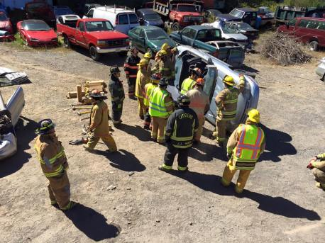 Firefighter Training, Vehicle, from Josh Holmberg, Soley's Garage, West Penn, 9-20-2015 (2)