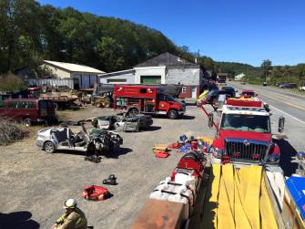 Firefighter Training, Vehicle, from Josh Holmberg, Soley's Garage, West Penn, 9-20-2015 (5)