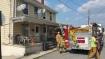 House Fire, Smoke, West Water Street, Lansford, 9-1-2015 (3)