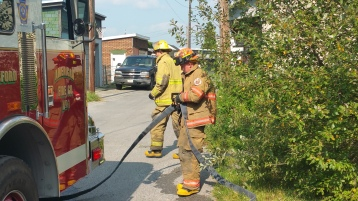 House Fire, Smoke, West Water Street, Lansford, 9-1-2015 (56)