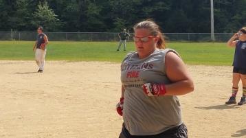 Matthew T. Aungst Memorial Softball Tournament, 2nd Day, West Penn Park, West Penn, 8-30-2015 (302)