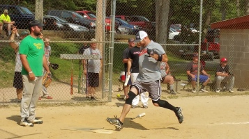 Matthew T. Aungst Memorial Softball Tournament, 2nd Day, West Penn Park, West Penn, 8-30-2015 (315)