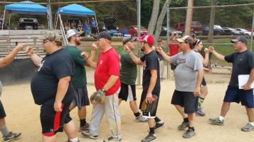 Matthew T. Aungst Memorial Softball Tournament, 2nd Day, West Penn Park, West Penn, 8-30-2015 (407)