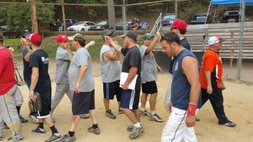 Matthew T. Aungst Memorial Softball Tournament, 2nd Day, West Penn Park, West Penn, 8-30-2015 (412)
