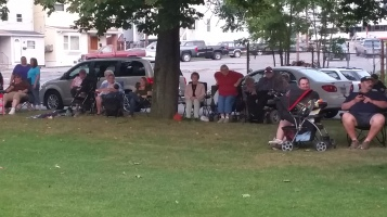 Music in the Park, Rodney Clouser Band, Kennedy Park, Lansford, 8-30-2015 (18)