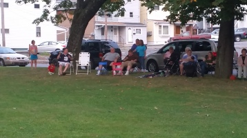 Music in the Park, Rodney Clouser Band, Kennedy Park, Lansford, 8-30-2015 (19)