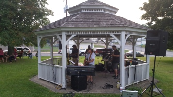 Music in the Park, Rodney Clouser Band, Kennedy Park, Lansford, 8-30-2015 (24)