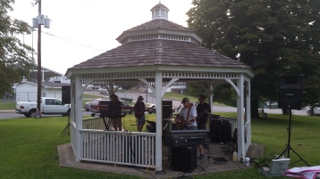 Music in the Park, Rodney Clouser Band, Kennedy Park, Lansford, 8-30-2015 (26)