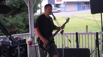 Music in the Park, Rodney Clouser Band, Kennedy Park, Lansford, 8-30-2015 (29)