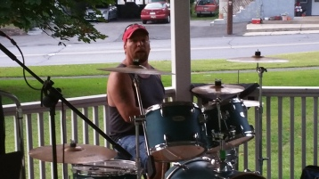 Music in the Park, Rodney Clouser Band, Kennedy Park, Lansford, 8-30-2015 (3)