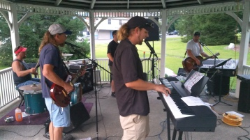 Music in the Park, Rodney Clouser Band, Kennedy Park, Lansford, 8-30-2015 (30)