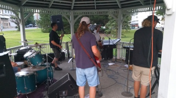 Music in the Park, Rodney Clouser Band, Kennedy Park, Lansford, 8-30-2015 (31)