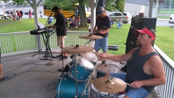 Music in the Park, Rodney Clouser Band, Kennedy Park, Lansford, 8-30-2015 (36)
