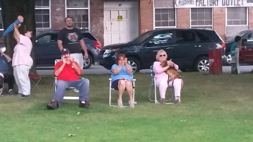 Music in the Park, Rodney Clouser Band, Kennedy Park, Lansford, 8-30-2015 (39)