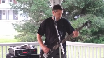 Music in the Park, Rodney Clouser Band, Kennedy Park, Lansford, 8-30-2015 (4)