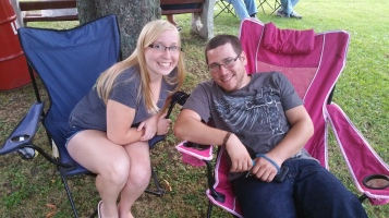 Music in the Park, Rodney Clouser Band, Kennedy Park, Lansford, 8-30-2015 (40)