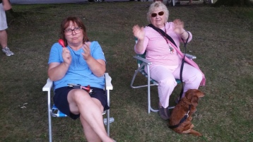 Music in the Park, Rodney Clouser Band, Kennedy Park, Lansford, 8-30-2015 (48)