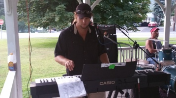 Music in the Park, Rodney Clouser Band, Kennedy Park, Lansford, 8-30-2015 (5)