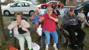 Music in the Park, Rodney Clouser Band, Kennedy Park, Lansford, 8-30-2015 (58)