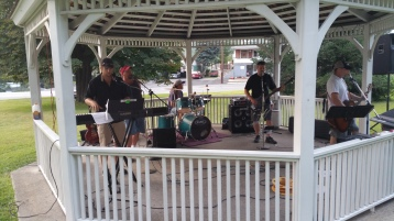 Music in the Park, Rodney Clouser Band, Kennedy Park, Lansford, 8-30-2015 (63)