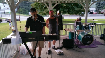 Music in the Park, Rodney Clouser Band, Kennedy Park, Lansford, 8-30-2015 (64)