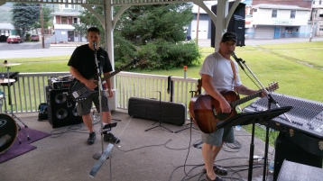 Music in the Park, Rodney Clouser Band, Kennedy Park, Lansford, 8-30-2015 (65)