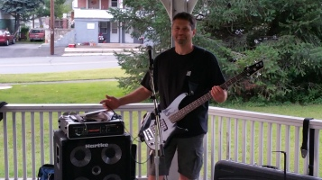 Music in the Park, Rodney Clouser Band, Kennedy Park, Lansford, 8-30-2015 (67)