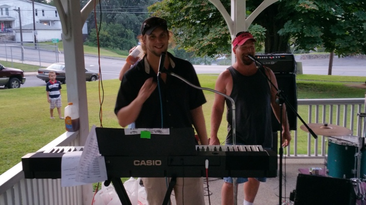 Music in the Park, Rodney Clouser Band, Kennedy Park, Lansford, 8-30-2015 (68)