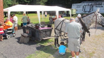 Old Fashioned Miner's Labor Day Picnic, No. 9 Coal Mine & Museum, Lansford, 9-6-2015 (1)