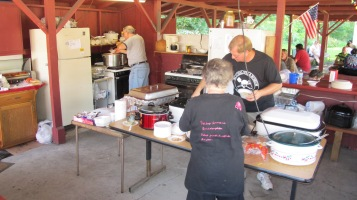 Old Fashioned Miner's Labor Day Picnic, No. 9 Coal Mine & Museum, Lansford, 9-6-2015 (10)