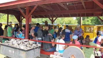 Old Fashioned Miner's Labor Day Picnic, No. 9 Coal Mine & Museum, Lansford, 9-6-2015 (31)