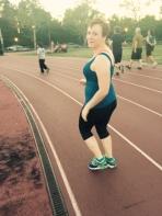 Runner Amanda Watsula, Care for the Homeless, to Run in New York City Marathon, 8-27-2015 (2)