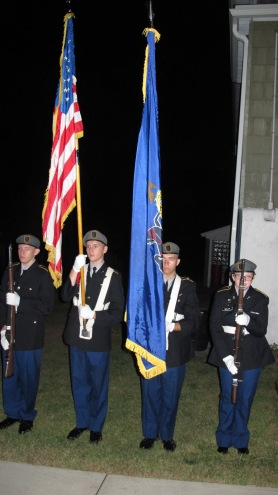 Sept. 11 Remembrance, Memorial Service, Coaldale VFW Post, Coaldale, 9-11-2015 (10)