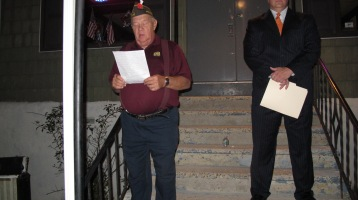 Sept. 11 Remembrance, Memorial Service, Coaldale VFW Post, Coaldale, 9-11-2015 (11)