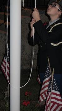 Sept. 11 Remembrance, Memorial Service, Coaldale VFW Post, Coaldale, 9-11-2015 (18)