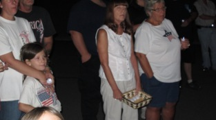 Sept. 11 Remembrance, Memorial Service, Coaldale VFW Post, Coaldale, 9-11-2015 (20)
