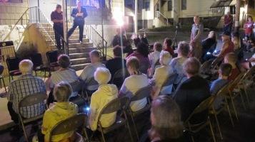 Sept. 11 Remembrance, Memorial Service, Coaldale VFW Post, Coaldale, 9-11-2015 (3)