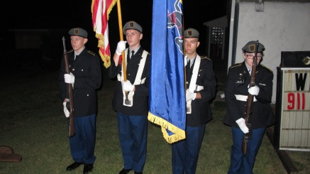 Sept. 11 Remembrance, Memorial Service, Coaldale VFW Post, Coaldale, 9-11-2015 (9)