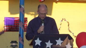 Sept. 11 Remembrance, Memorial Service, Jackie Jones, South Ward Playground, Tamaqua (1)